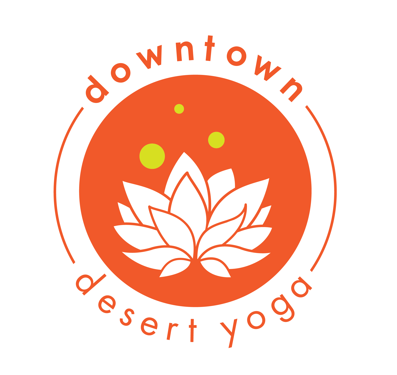 downtown desert yoga Logo